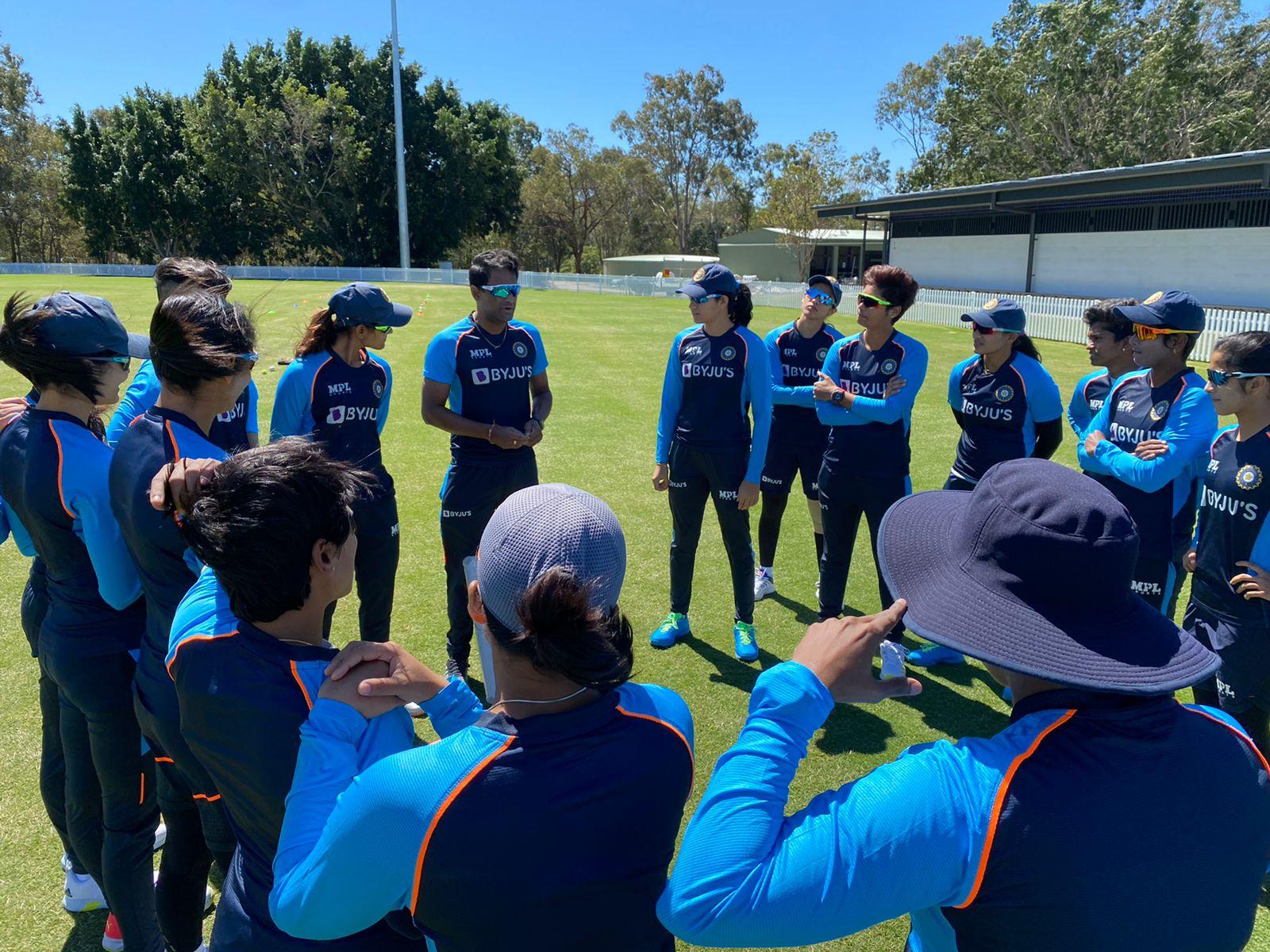 India women trains ahead of the Australia series | BCCI Women Twitter
