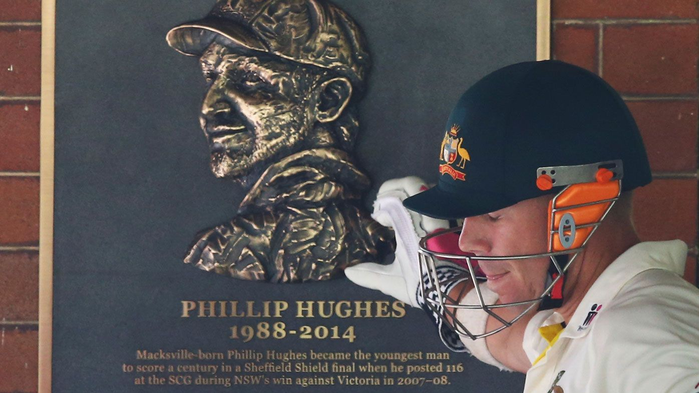 Warner pays tribute to Phil Hughes | GETTY