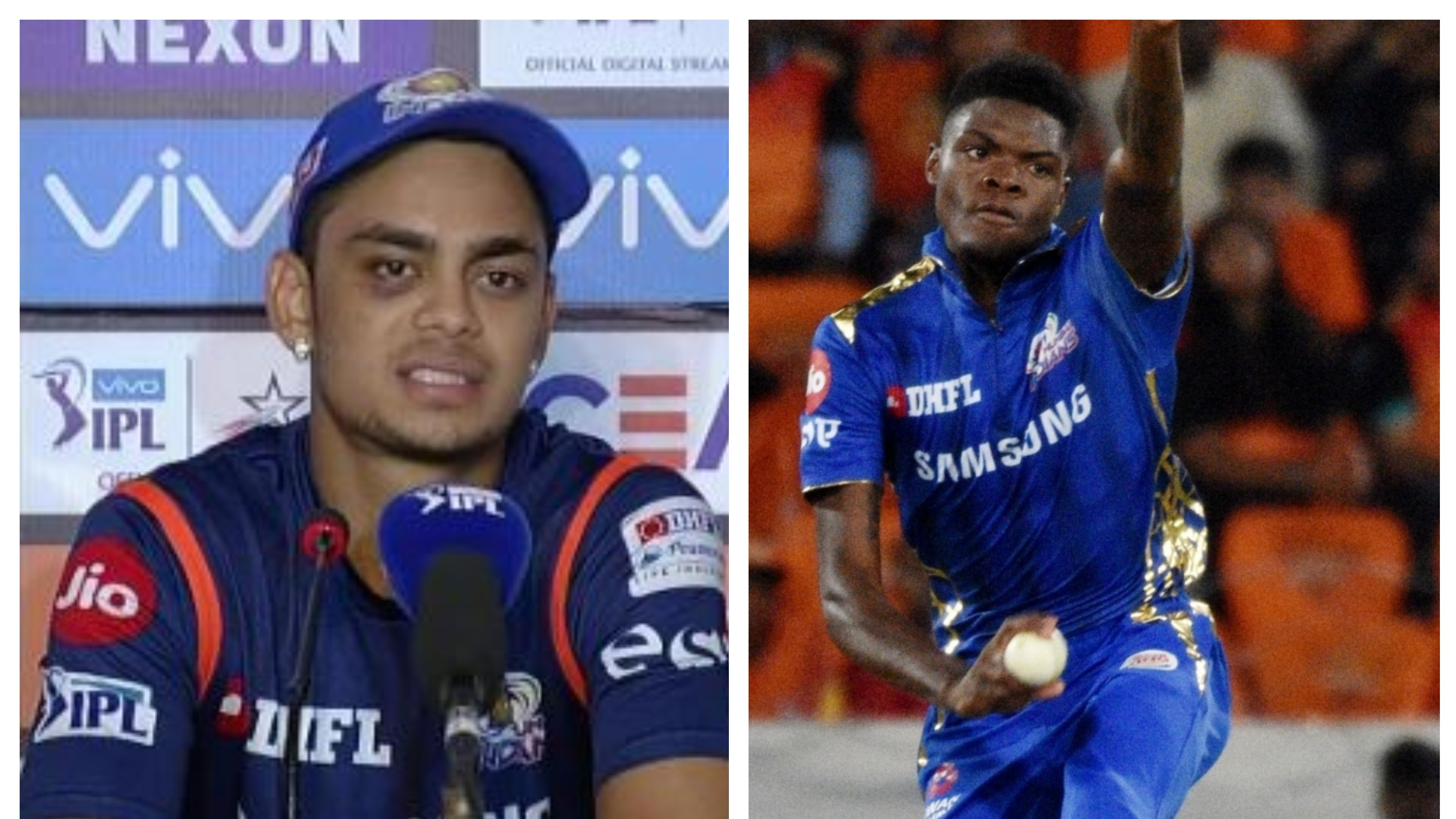 IPL 2019: Ishan Kishan comes out in defence of Mumbai Indians pacer Alzarri Joseph