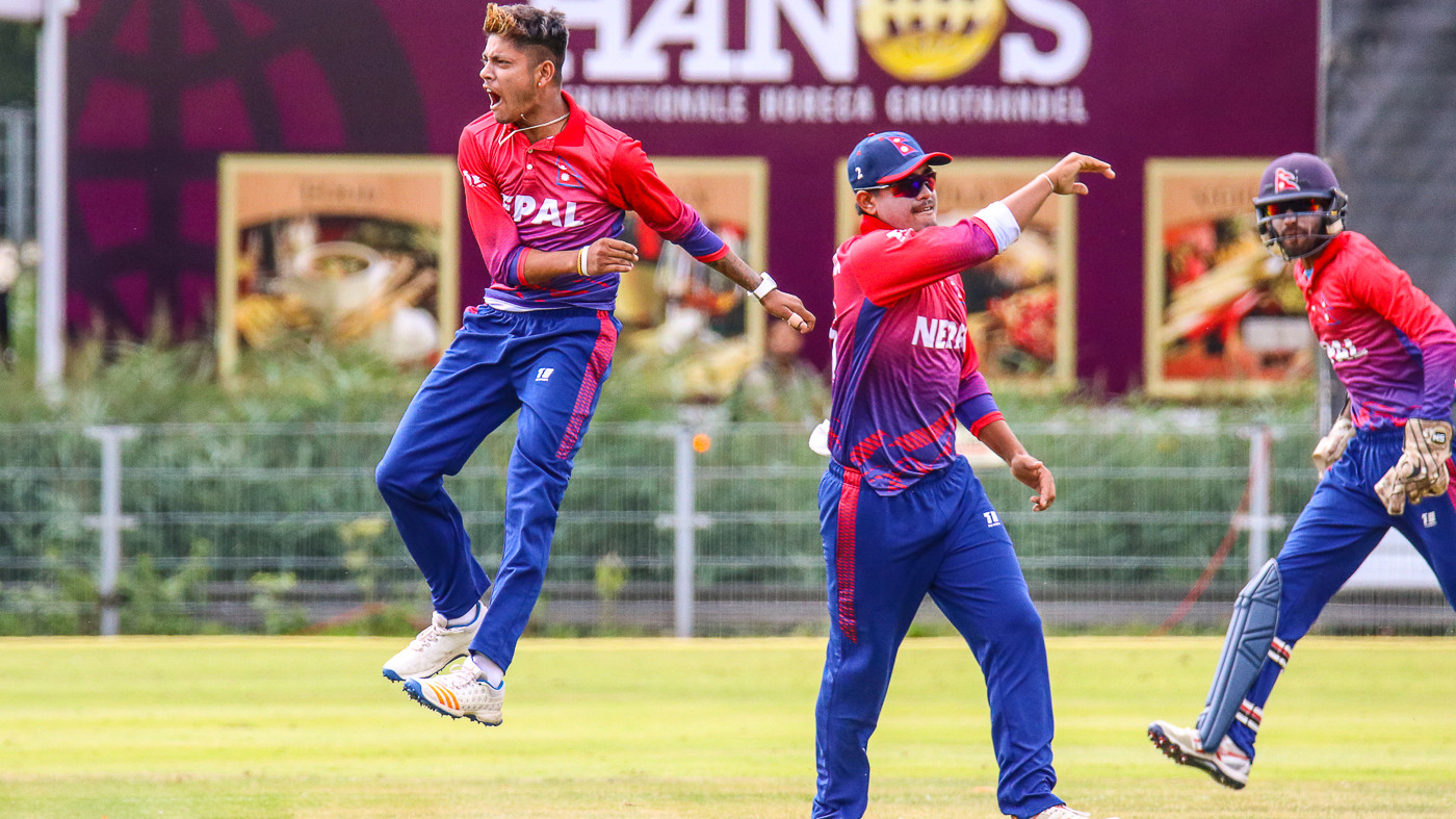 ICC World T20 Qualifiers: Nepal bowl out China for 26, chase it down in 11 balls
