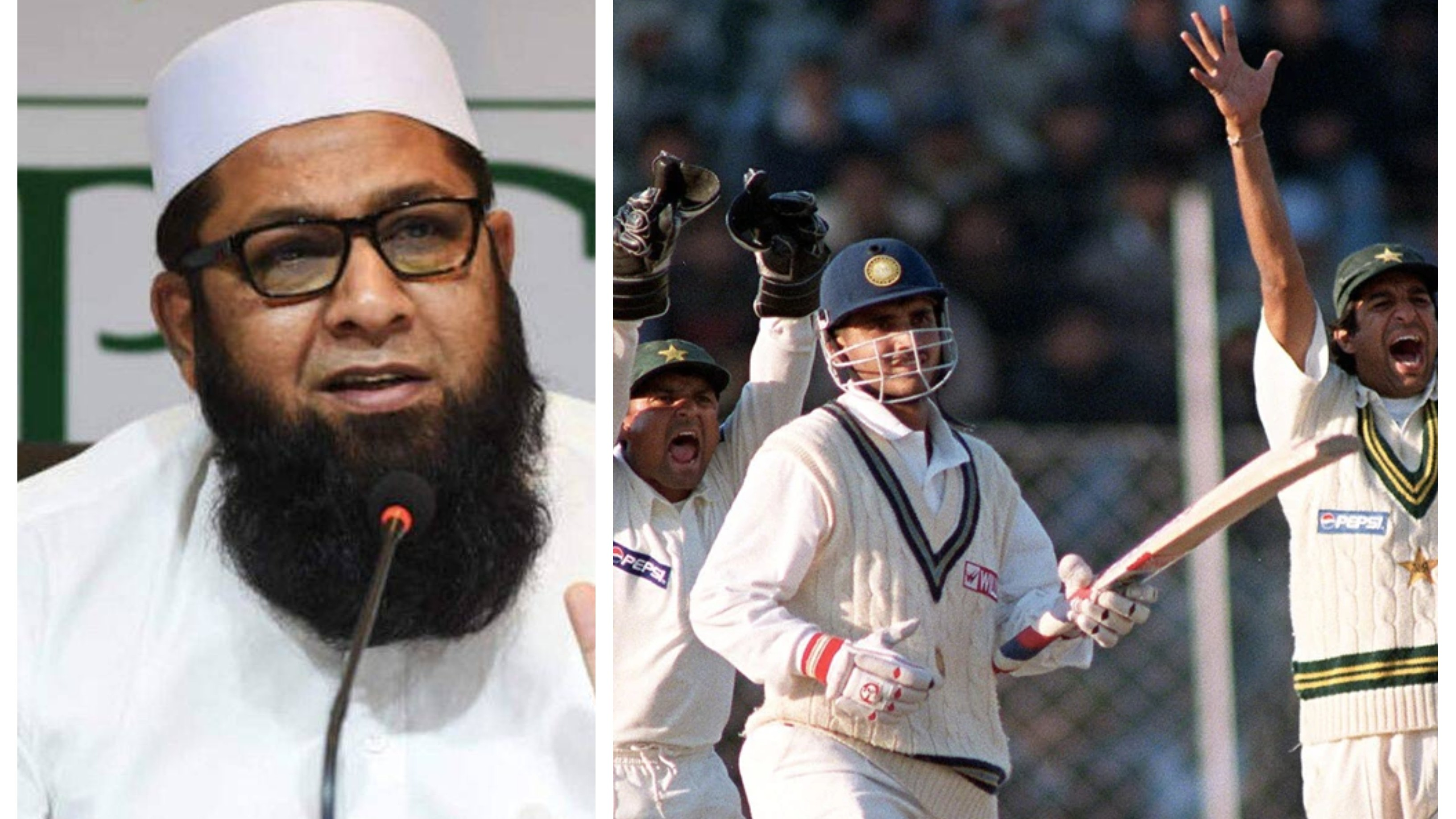 WATCH: Inzamam-ul-Haq admits Sourav Ganguly's dismissal in 1999 Chennai Test was doubtful