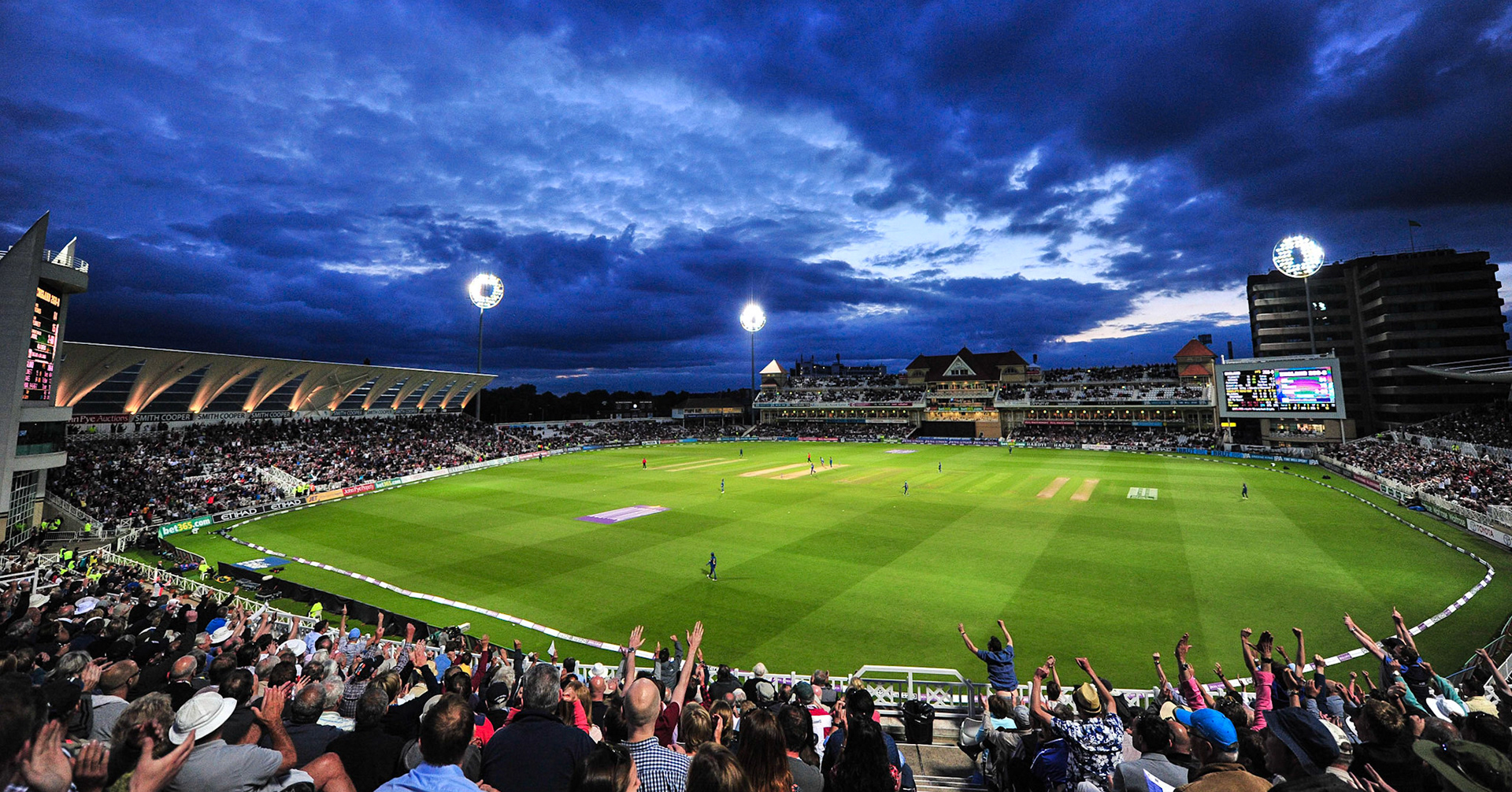 Men's matches will be played at Trent Bridge. (Sky Sports)