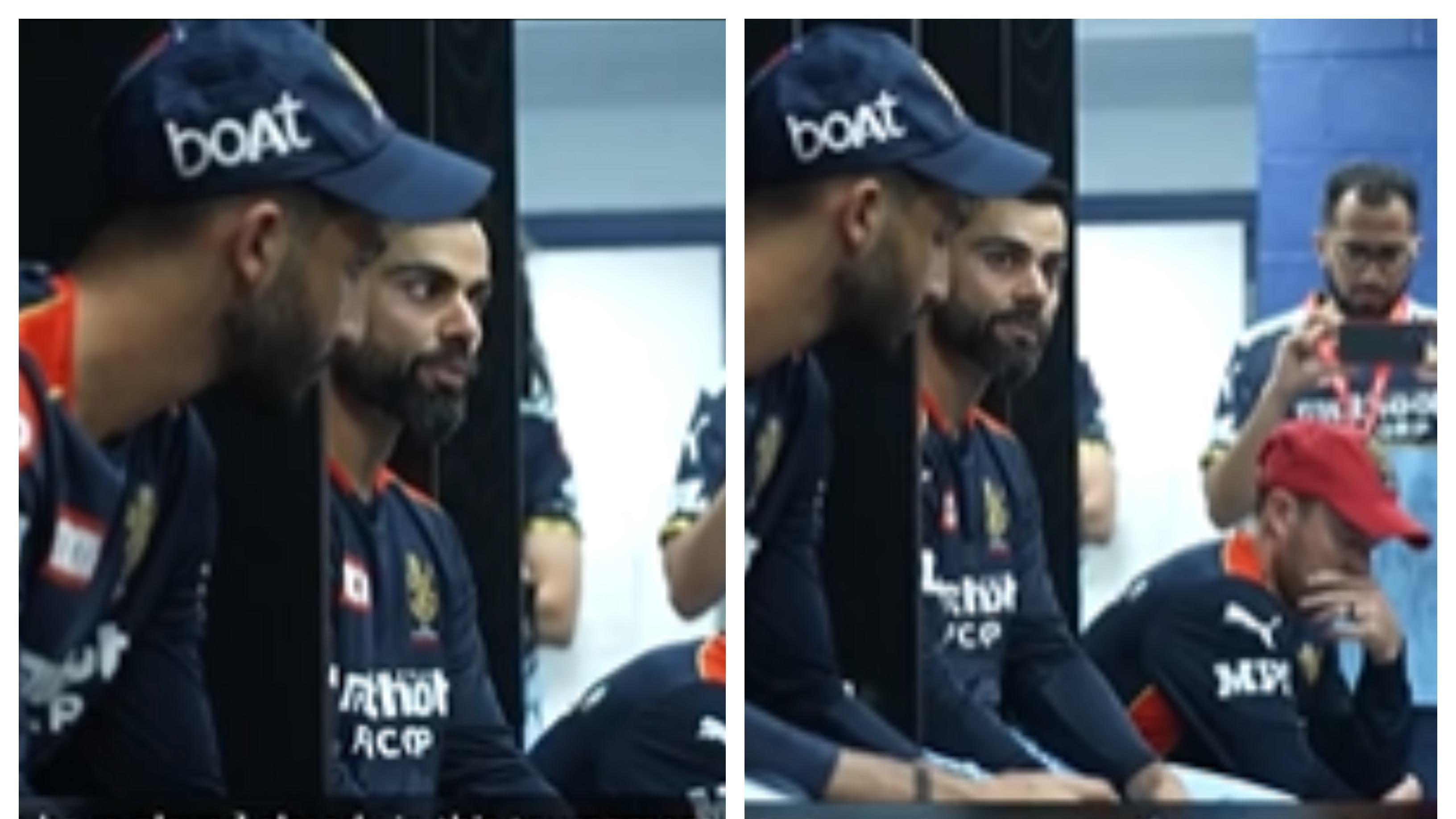 IPL 2021: WATCH - Virat Kohli's uplifting speech in the dressing room after RCB's crushing loss to KKR