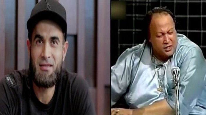 WATCH: Imran Tahir sings Nusrat Fateh Ali Khan's qawwali on Harbhajan Singh's chat show