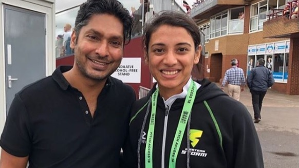 Smriti Mandhana impresses Sri Lankan legend Kumar Sangakkara with her blistering batting