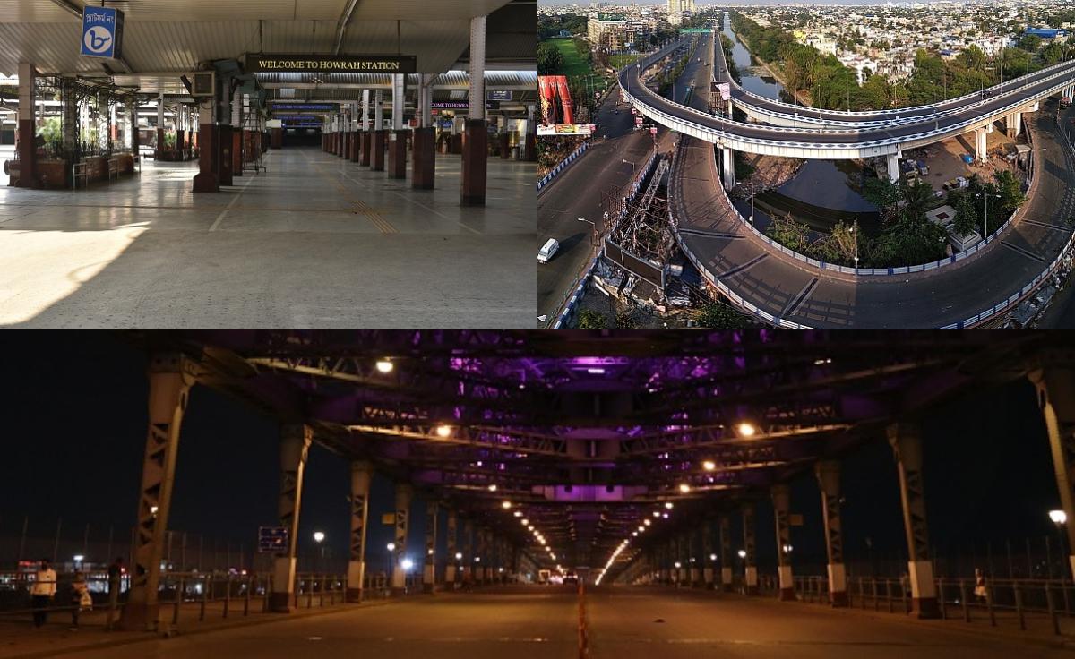 Some photos of Kolkata under lockdown | Getty