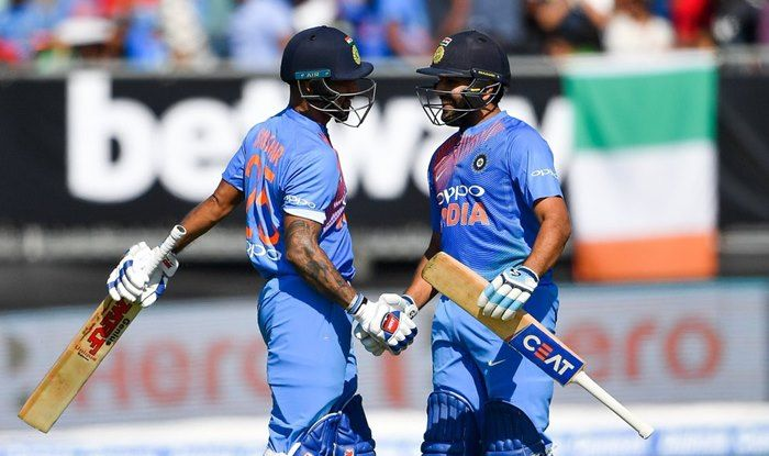 Rohit Sharma and Shikhar Dhawan added 160 runs for the first wicket | Twitter