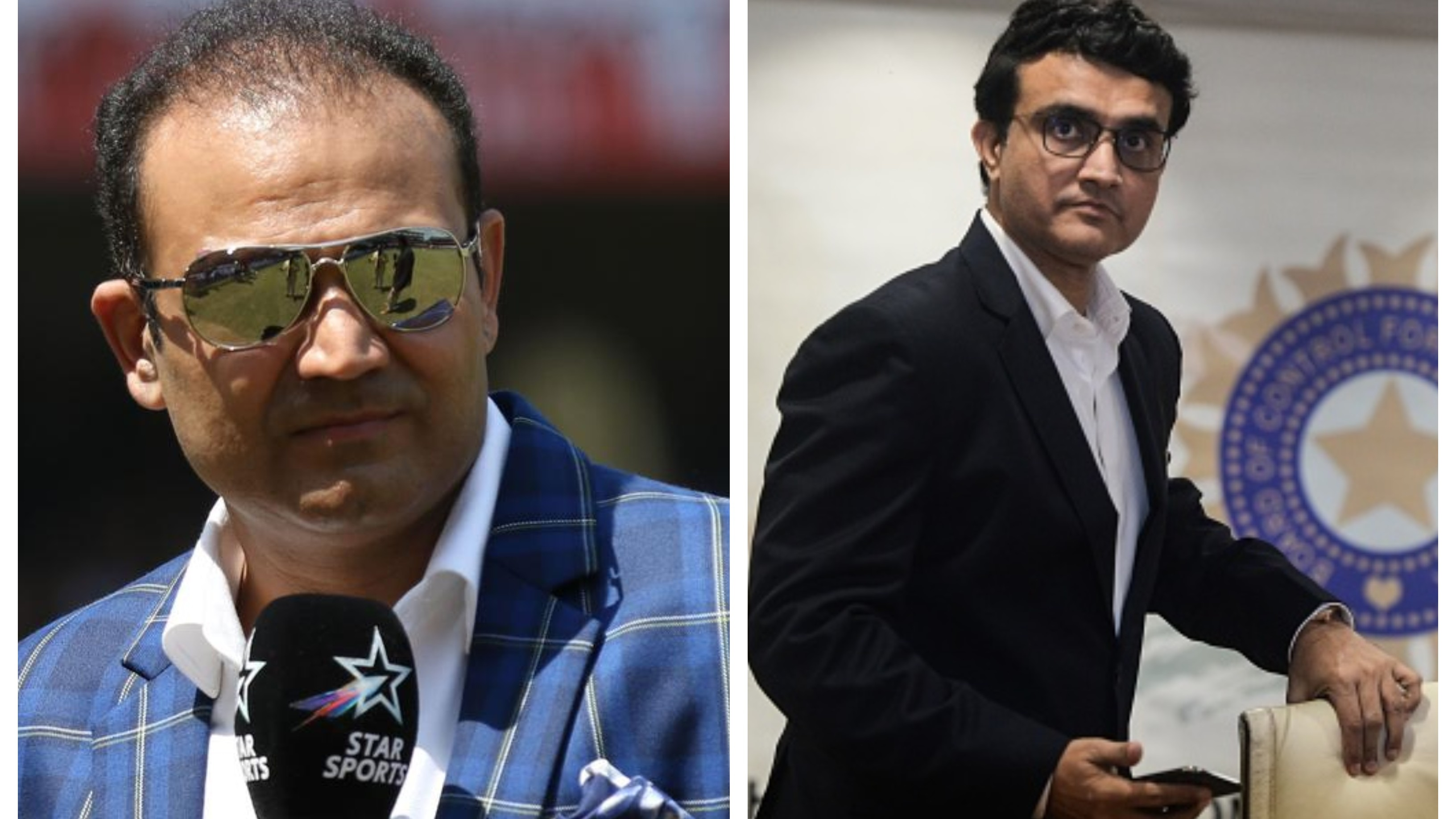 """""""He is the best man to do the job"""", says Sehwag on Ganguly's appointment as BCCIpresident"""