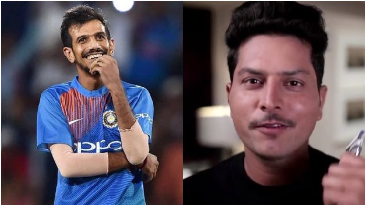 WATCH: Kuldeep Yadav gets brutally trolled by his teammates for his #BreakTheBeard video