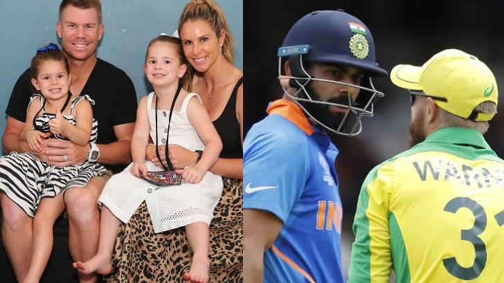 David Warner's wife Candice reveals their daughter's favorite cricketer is Virat Kohli