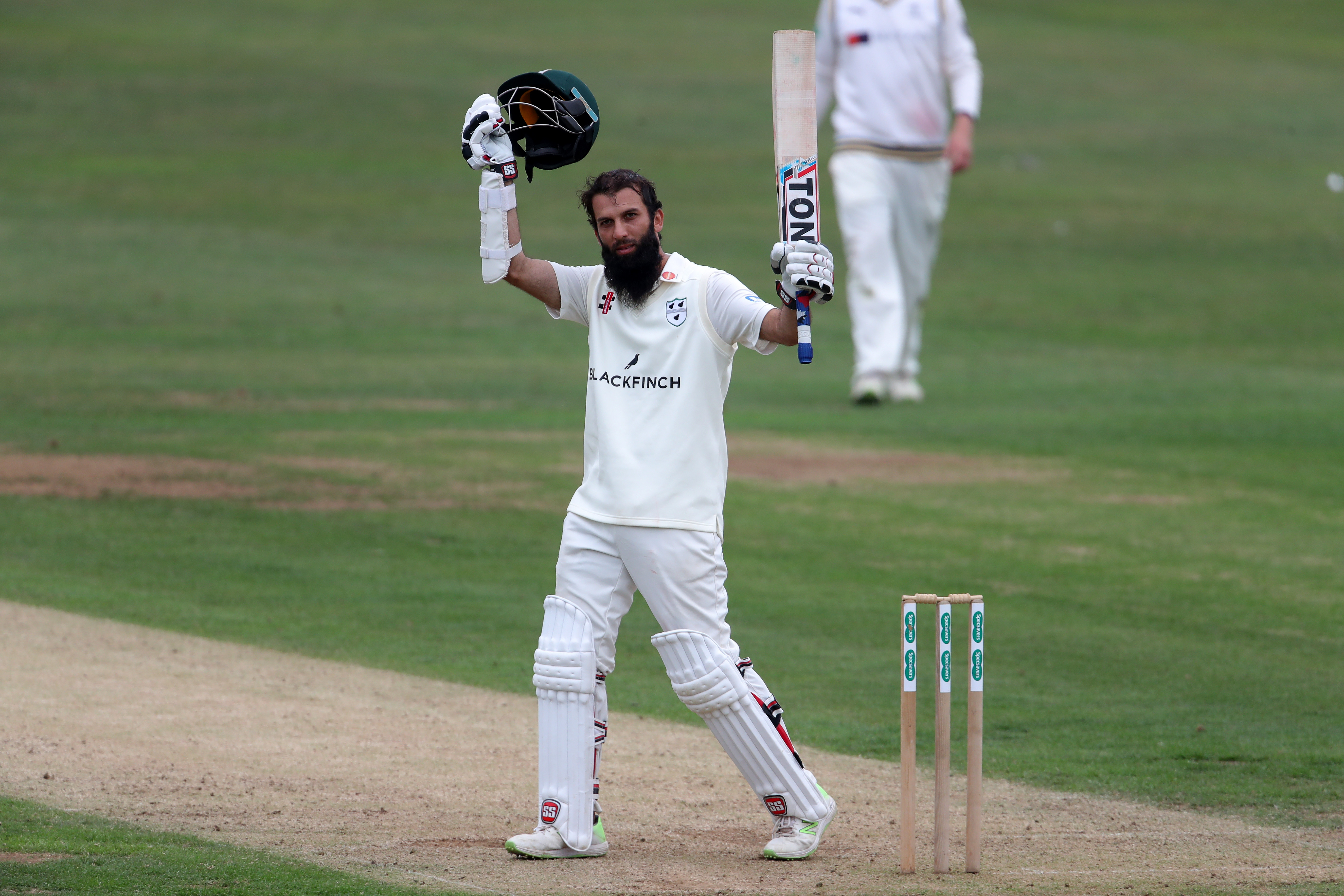 Moeen scored a double hundred against Yorkshire. (Getty)