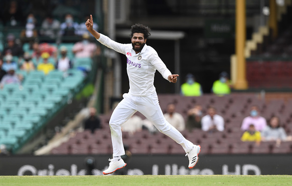 Ravindra Jadeja finished with impressive figures of 18-3-62-4 in Australia's first innings | Getty Images