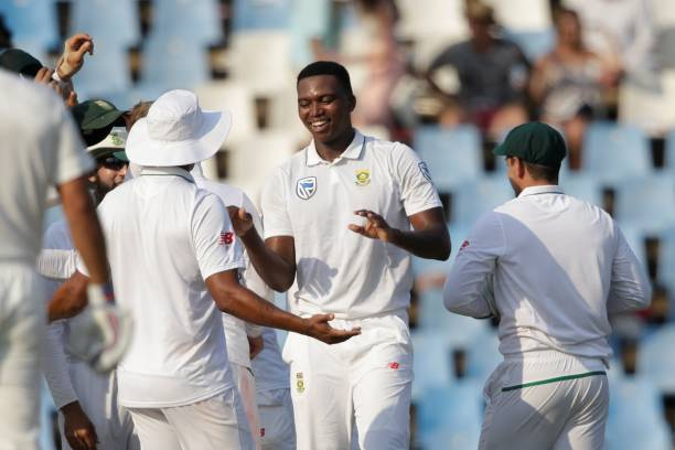 Lungi Ngidi dismissed KL Rahul and Virat Kohli in India's second innings | Getty