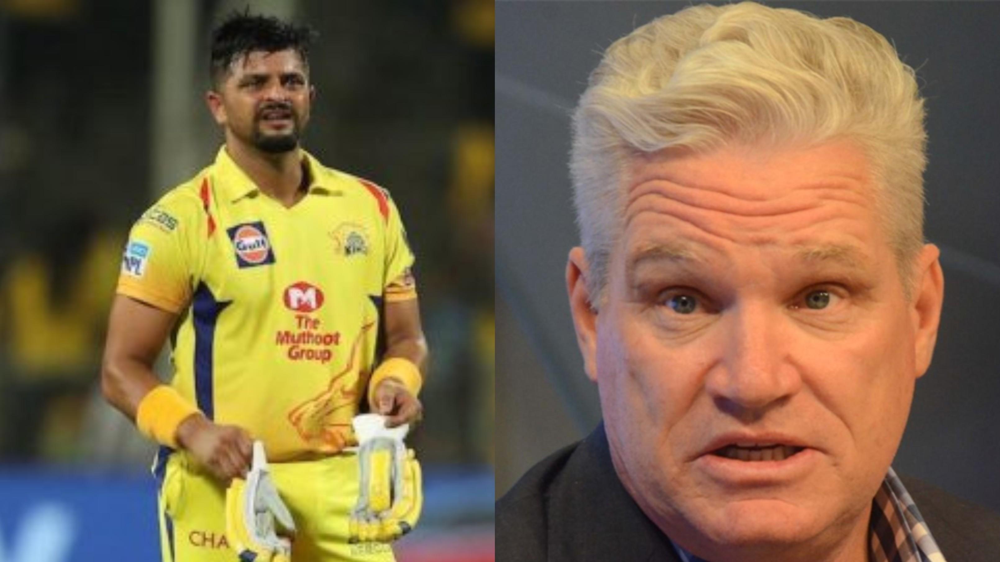 IPL 2020: Dean Jones feels Suresh Raina's absence is a major concern for CSK
