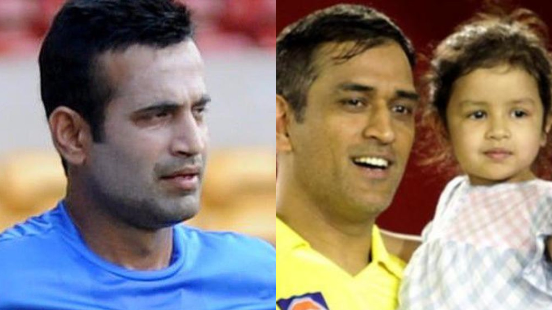 """""""No authority to anyone to threat a young child,"""" Irfan Pathan says on rape threats to Ziva Dhoni"""