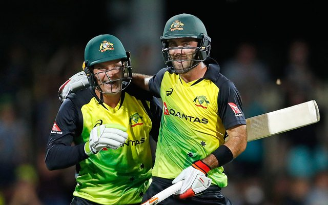 Glenn Maxwell and Alex Carey share a very good rapport | Getty