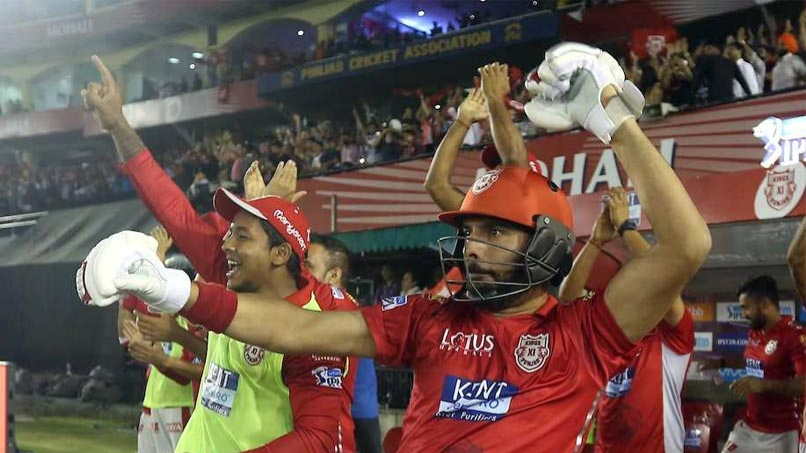 IPL 2018: Watch - Yuvraj Singh's ultimate celebration after Chris Gayle ton against SRH