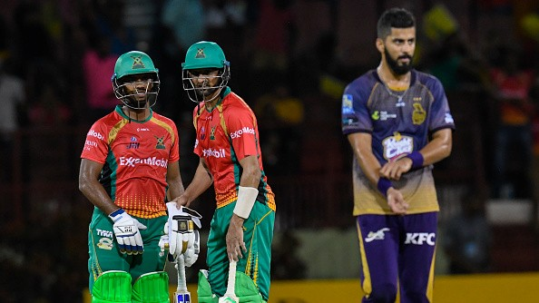 CPL 2019: Warriors defeat Knight Riders to assert league-stage dominance
