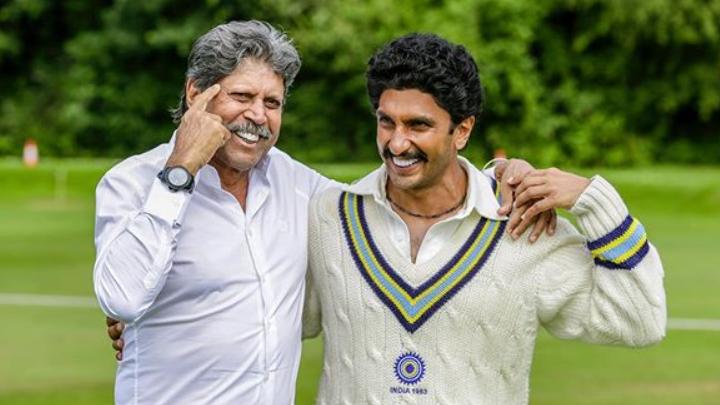 कपिल देव से '83' के सेट पर खेल की कहानियाँ सुनते थे रणवीर सिंह