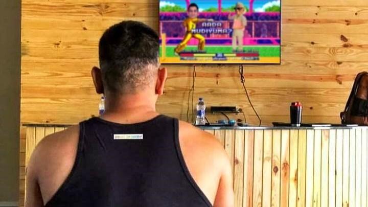 IPL 2020: MS Dhoni looks at IPL 13 promo; Chennai Super Kings shares latest picture