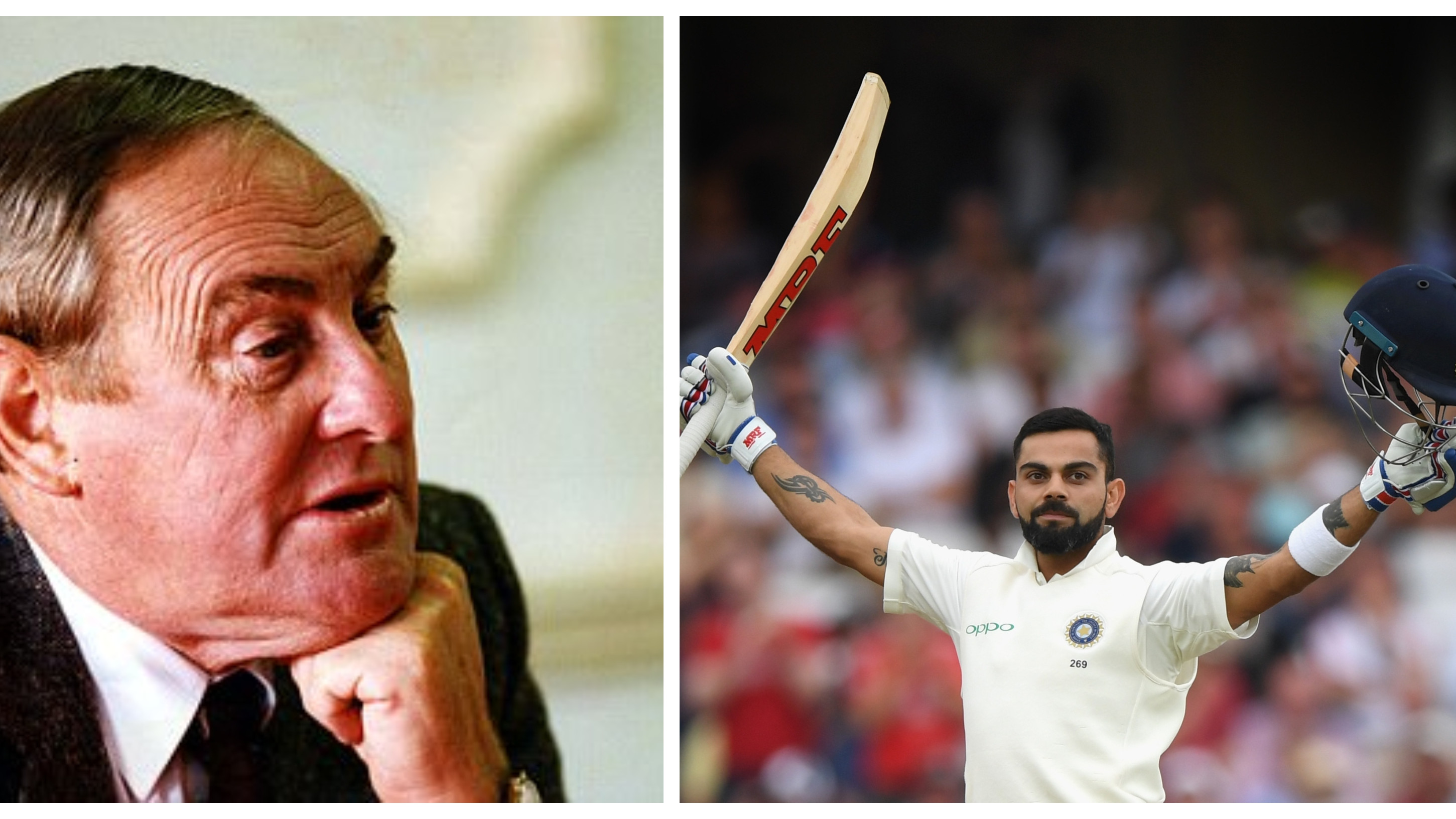 ENG vs IND 2018: Virat Kohli has a bunch of players who believe in him: Ray Illingworth