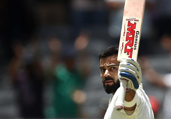 Virat Kohli scored his 7th Test ton against Australia and 6th in their own backyard | Getty