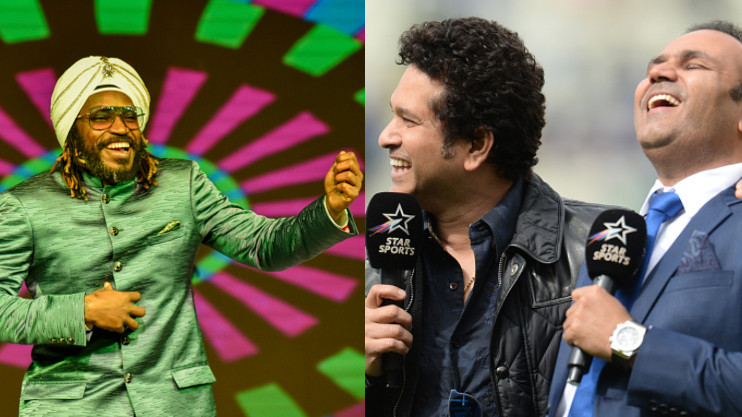 Sachin Tendulkar wishes Chris Gayle on his birthday, Virender Sehwag calls him 'Man with a big heart'