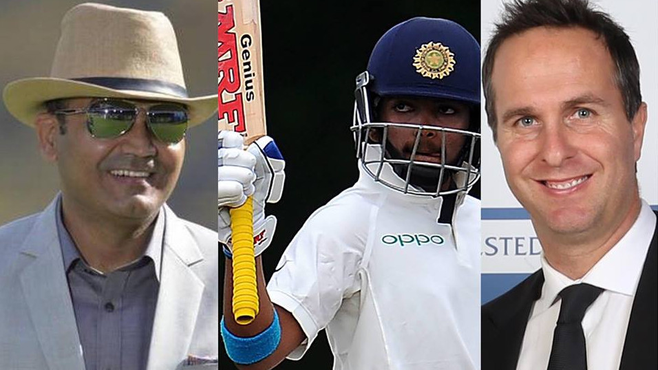 IND v WI 2018: Cricket fraternity applauds the talent of Prithvi Shaw as he slams debut century