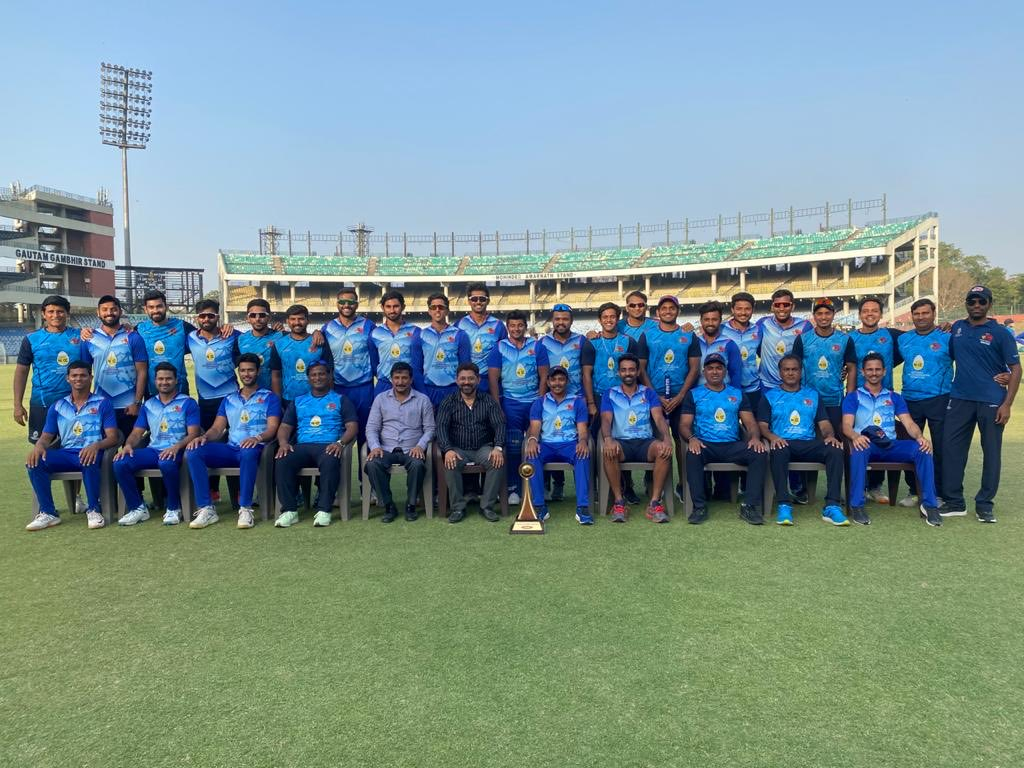 Mumbai clinched their fourth Vijay Hazare title on Sunday | MCA Twitter