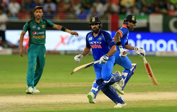 India and Pakistan recently locked horns in the Asia Cup in Dubai | Getty
