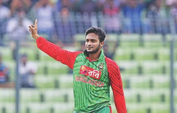 Shakib will start his strength training from next week | AFP
