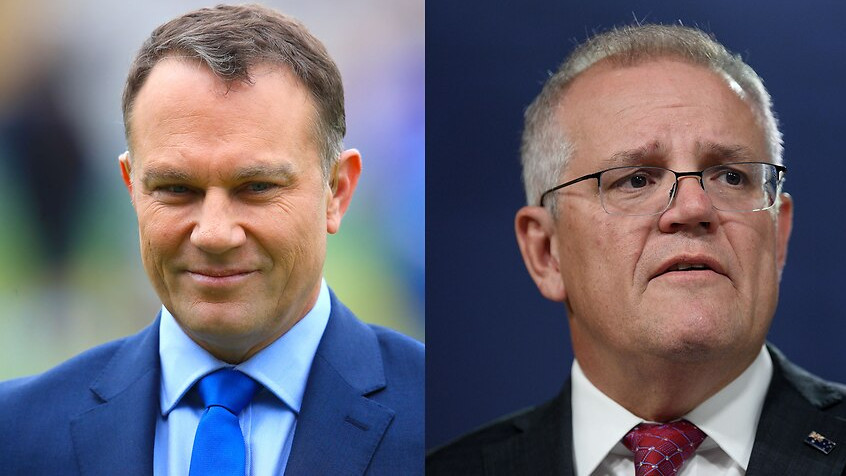 Michael Slater asks PM Morrison to come on his private jet and see dead bodies on Indian streets