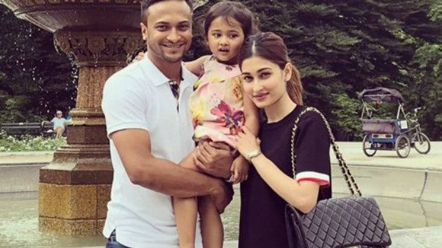 Shakib Al Hasan's wife comes in support of her husband after two year suspension