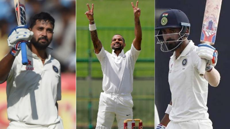 M Vijay, Shikhar Dhawan and KL Rahul have all failed in foreign conditions