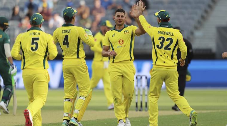 Marcus Stoinis has made a return to the T20I side after missing the UAE tour due to injury | Getty