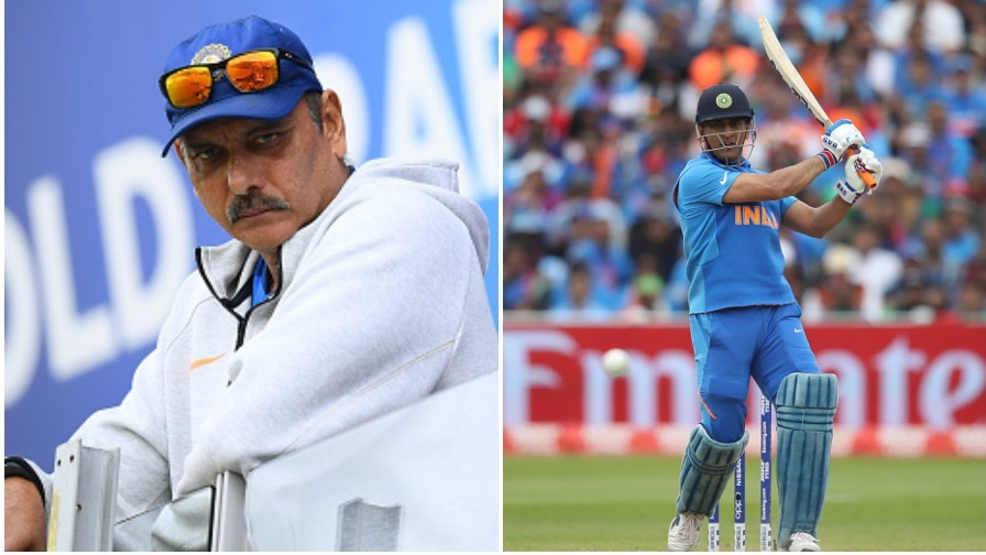 Ravi Shastri explains why MS Dhoni was sent down the order to bat in World Cup semi-final