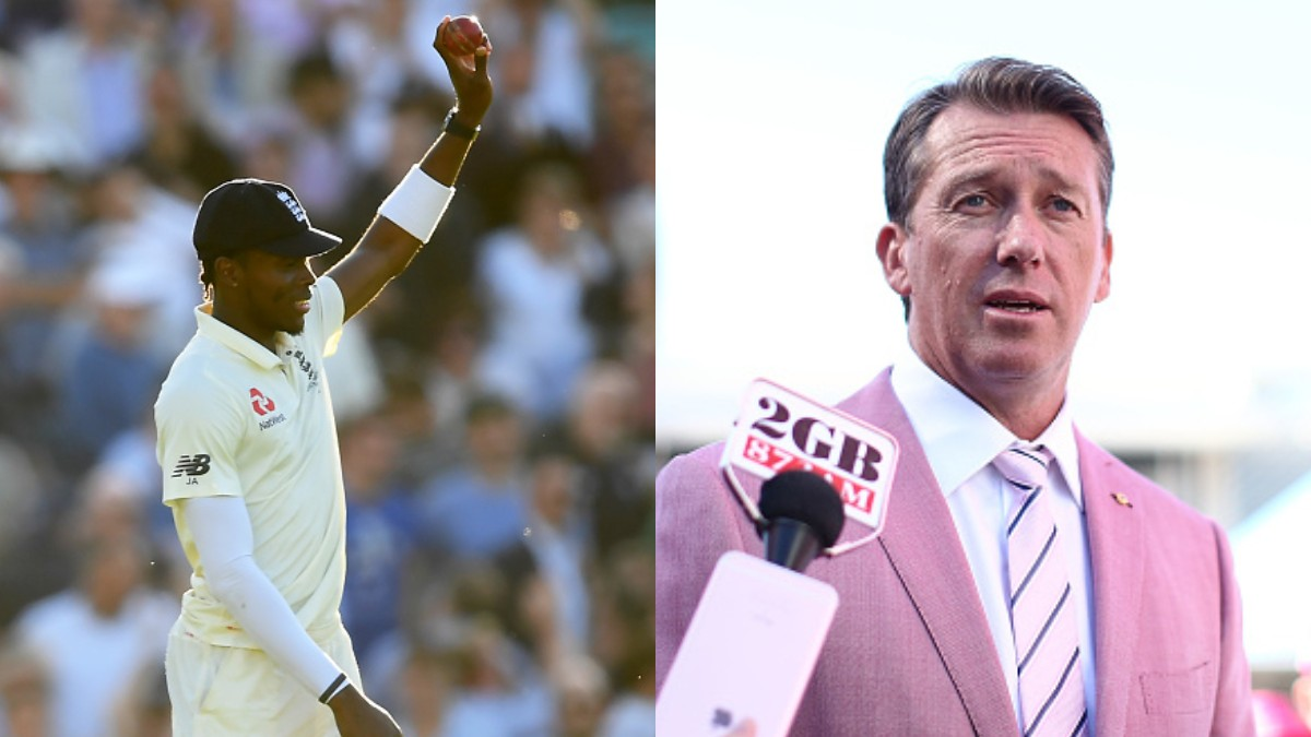 ASHES 2019: Jofra Archer responds to Glenn McGrath's
