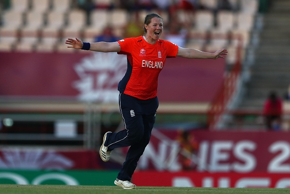 Shrubsole picked up a hattrick to finish off South Africa's tail | Getty