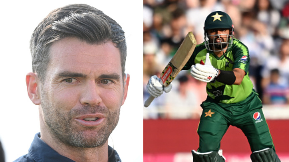ENG v PAK 2021: James Anderson calls Babar Azam the best T20 player in the world