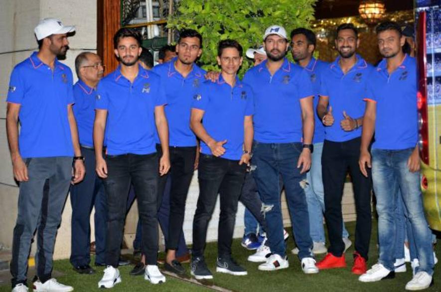 मुंबई इंडियंस के साथ युवराज सिंह | Getty