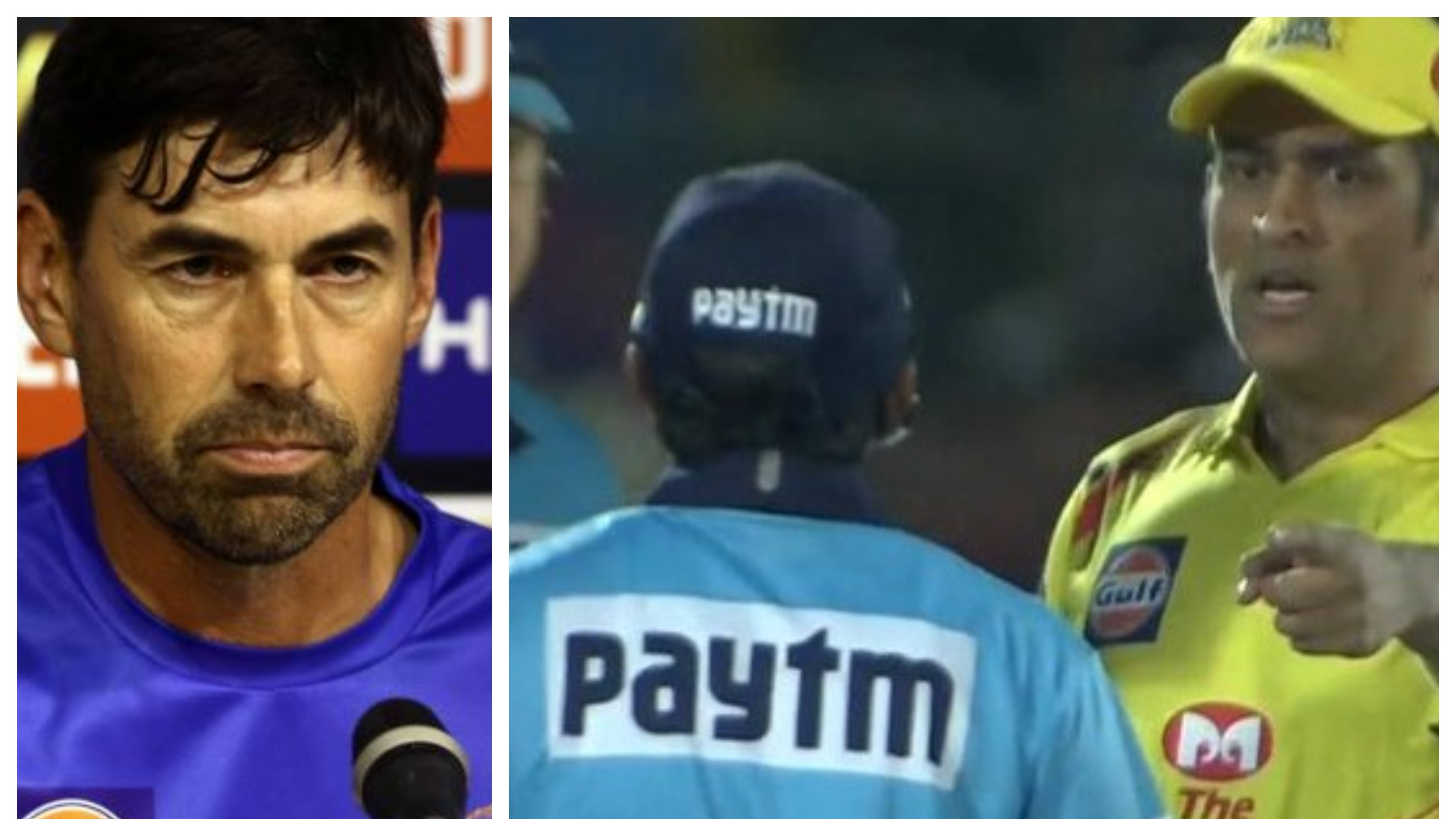 IPL 2019: MS Dhoni got fired up by the way no-ball decision was handled, says Stephen Fleming