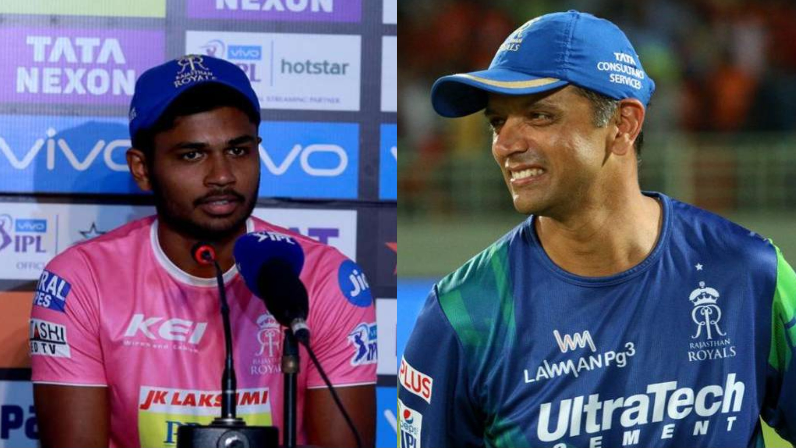 "Sanju Samson recalls when Rahul Dravid asked him ""Would you play for my team?"""