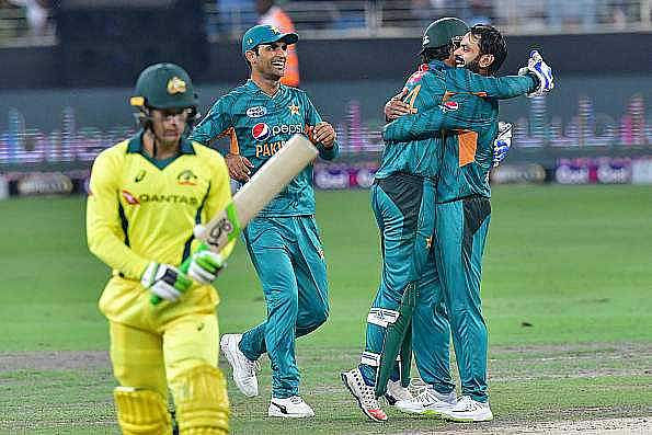 Pakistan thrashed Australia in a three-match T20I series 3-0 | AFP