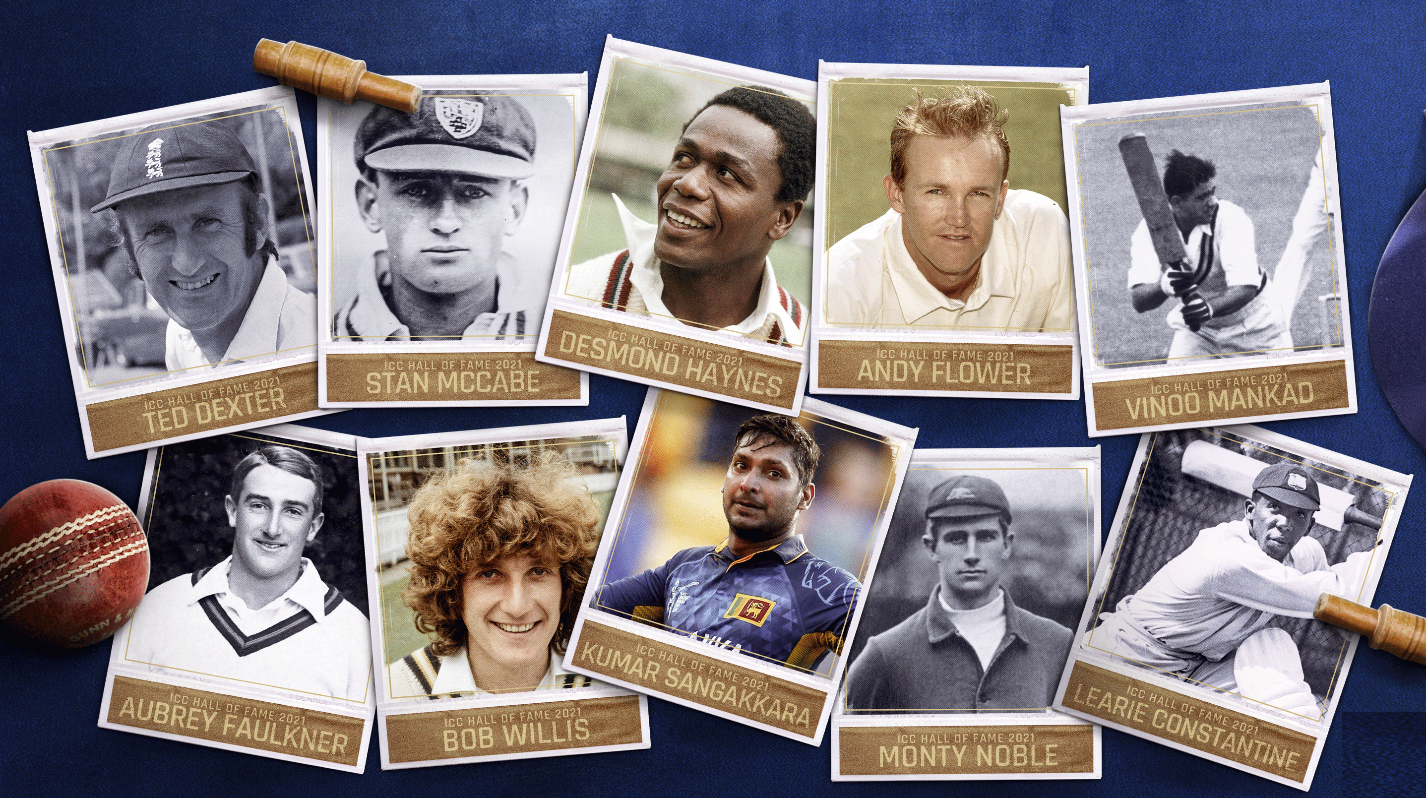 ICC inducted 10 players from 5 different eras of cricket into the class of 2021 | ICC Twitter