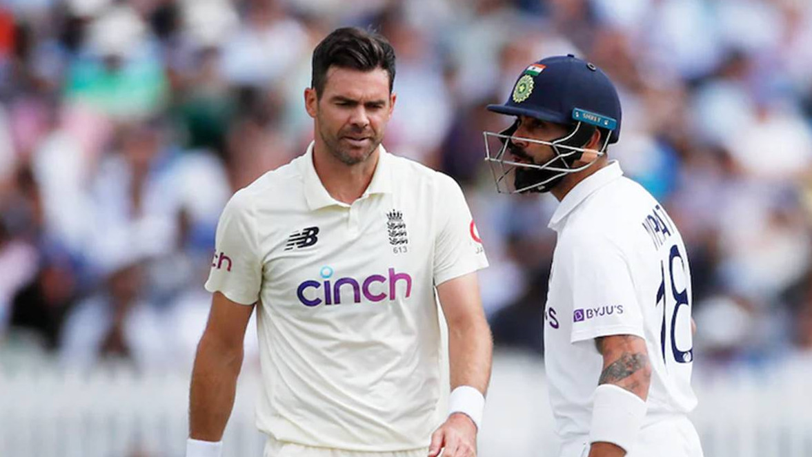 James Anderson terms his battle against Virat Kohli this year as his favorite