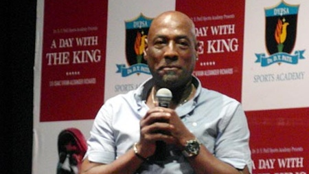 Sir Viv Richards names the