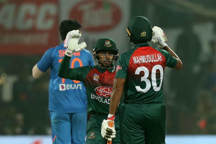 Bangladesh defeated India by seven wickets in the first T20I in Delhi | AFP