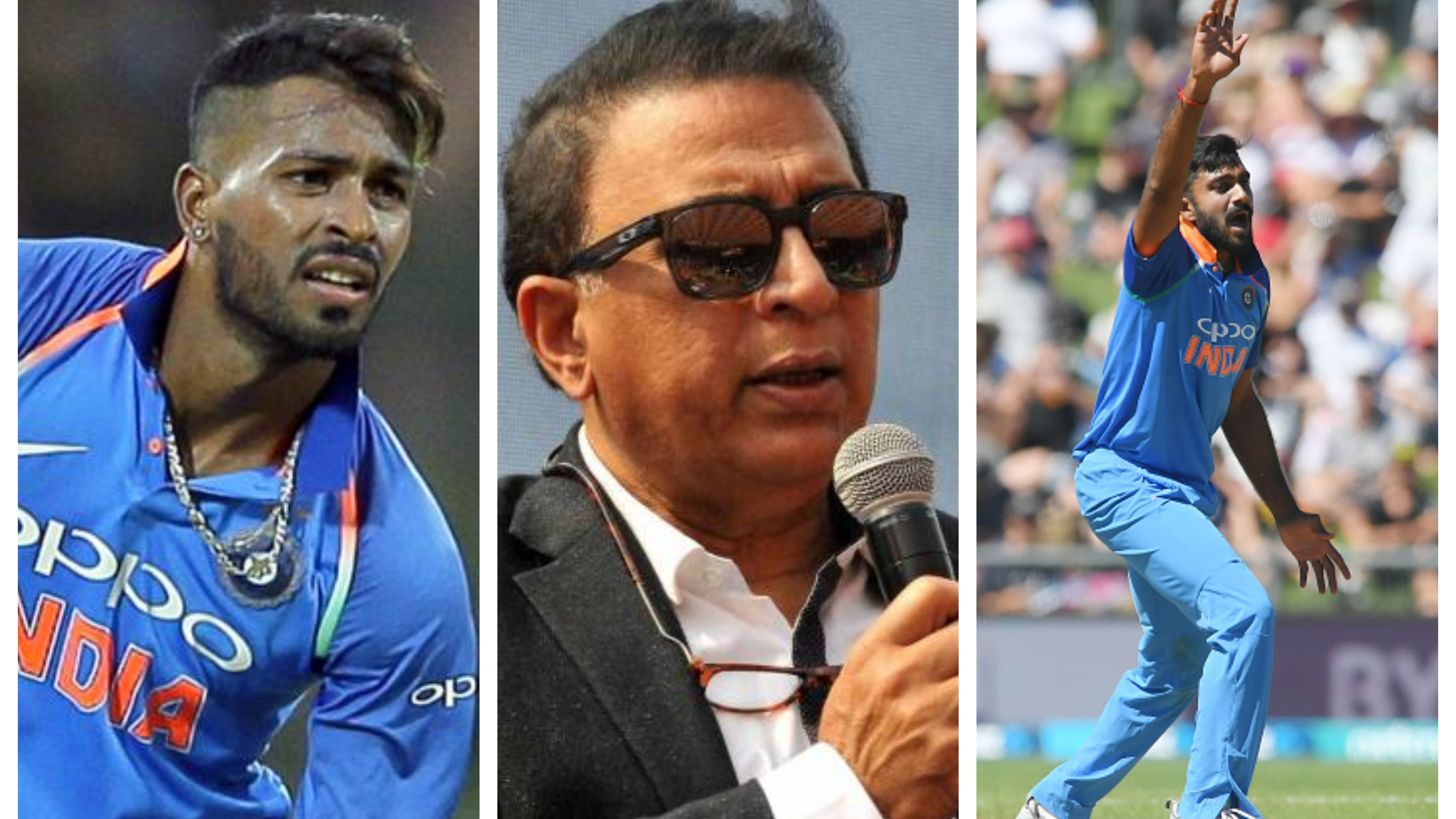 NZ v IND 2019: Sunil Gavaskar feels bad for Vijay Shankar after Hardik Pandya's return to India squad