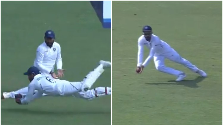 IND v SA 2019: WATCH - Virat Kohli and Wriddhiman Saha keep fans on toes with outstanding catches