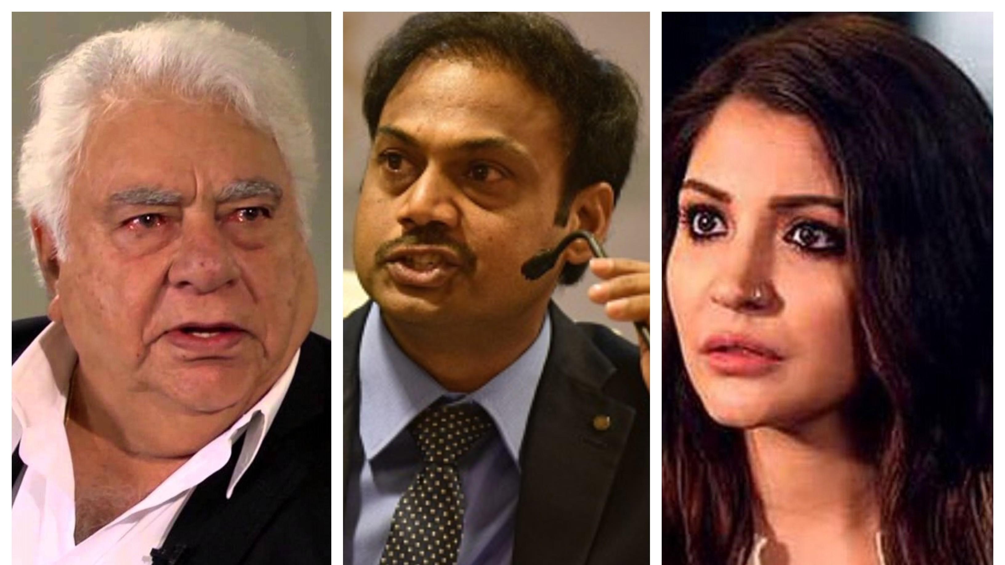 "MSK Prasad lambasts Farokh Engineer for his ""petty talk"" about Virat Kohli's wife Anushka Sharma"